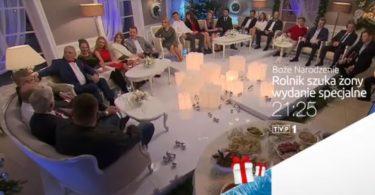 Świąteczny odcinek wszystkich edycji Rolnika już 25 grudnia Rolnik Szuka Żony