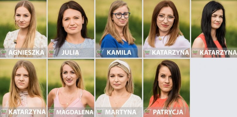 Kandydatki Dawida - sezon 7 edycja 2020 Rolnik Szuka Żony